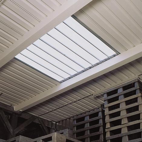 Lichtfeld im Dach, LxB 2000x2000mm