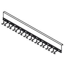 Lijst voor 10 gereedschappen met steel voor materialencontainer