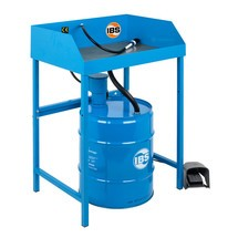 Limpador de peças pequenas BASIC para barris de 50 litros