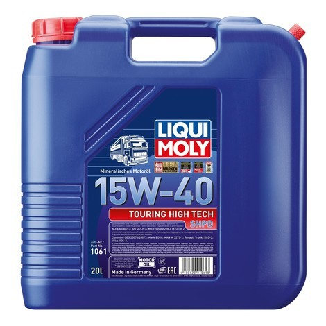 LIQUI MOLY Touring High Tech SHPD-Motoröl 15W-40