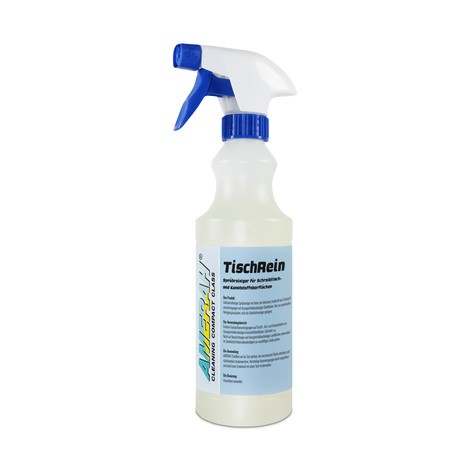 Liquido detergente per superfici in materiale plastico