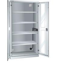LISTA Akku-Ladeschrank, (BxTxH) 1000x580x1950mm, 1 Energieleiste Seitenwand, Sichtfenster