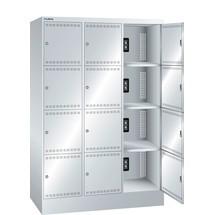 LISTA Akku-Ladeschrank, (BxTxH) 1205x585x1790mm, 3x4 Fächer, 2 Module pro Fach