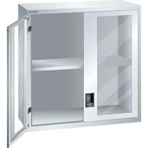 LISTA Aufsatzschrank 54x27E, (BxTxH) 1023x572x1000mm, Sichtfenster
