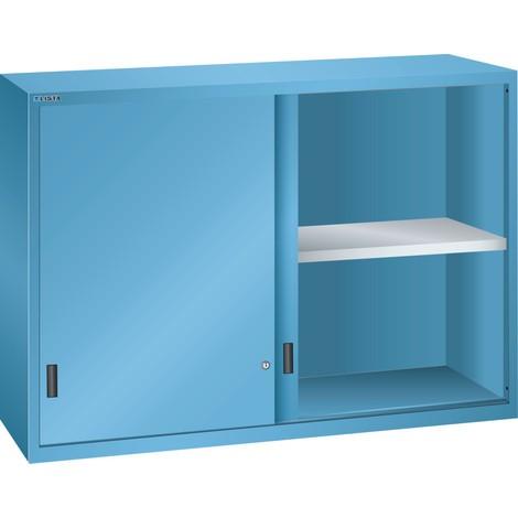 LISTA Aufsatzschrank mit Schiebetüren 78x27E, (BxTxH) 1431x572x1000mm