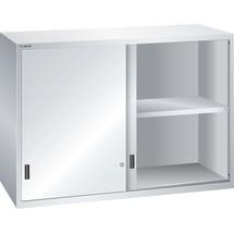 LISTA Aufsatzschrank mit Schiebetüren 78x36E, (BxTxH) 1431x725x1000mm