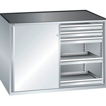 LISTA Beistellschrank 2x36x27E, (BxTxH) 1430x600x1020mm, 10 Schubladen