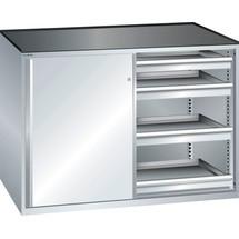 LISTA Beistellschrank 2x36x27E, (BxTxH) 1430x600x1020mm, 8 Schubladen