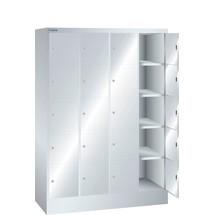 LISTA Fächerschrank, (BxTxH) 1200x500x1695mm, 4x5 Fächer