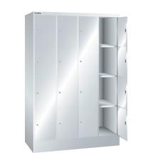LISTA Fächerschrank, (BxTxH) 1200x500x1795mm, 4x4 Fächer