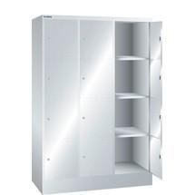 LISTA Fächerschrank, (BxTxH) 1205x500x1795mm, 3x4 Fächer