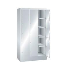 LISTA Fächerschrank, (BxTxH) 905x500x1695mm, 3x5 Fächer
