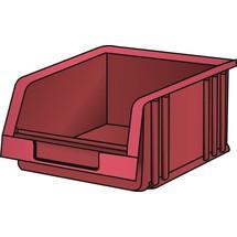 LISTA Lagersichtbehälter, (BxTxH) 101x90x50mm, Größe 3