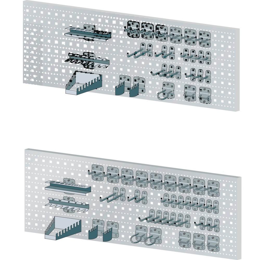 LISTA Lochplattenhaken-Set