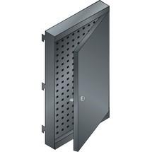 LISTA Lochwand mit Tür rechts, (BxTxH) 380x50x667mm