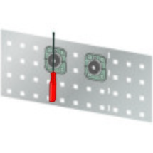 LISTA Magnethalter 35mm, 5 Stück