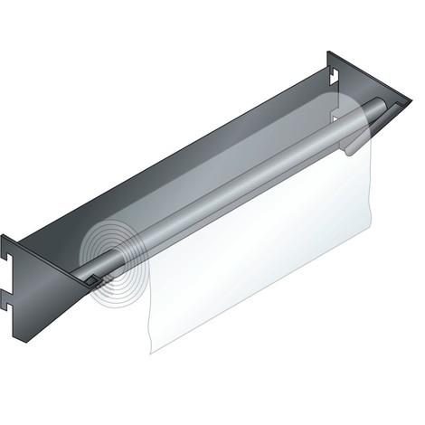 LISTA Papierrollenhalter, Länge 360mm