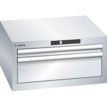 LISTA Schubladenschrank 27x27E, (BxTxH) 564x572x283mm, 2 Schubladen, 1 x 50 / 1 x 150