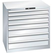 LISTA Schubladenschrank 45x36E, (BxTxH) 870x725x850mm, 7 Schubladen TK 200kg