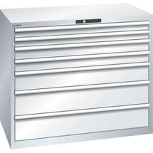 LISTA Schubladenschrank 64x36E, (BxTxH) 1193x725x1000mm, 7 Schubladen TK 200kg
