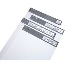 LISTA-Script Etiketten für Beschriftungsleisten