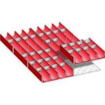 LISTA Set Mulden 18x27E, (BxTxFH) 306x459x50mm, 36-teilig