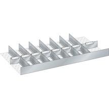 LISTA Set Schlitzwände und Trennbleche, (BxTxFH) 867x459x95mm, 8 Schlitzwände, 8 Trennbleche