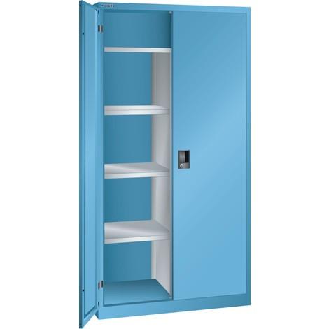 LISTA Wäsche- und Garderobenschrank, (BxTxH) 1000x500x1950mm, 4 Verstellböden