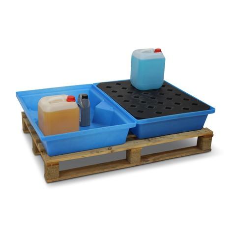 Liten container fack tillverkad av PE