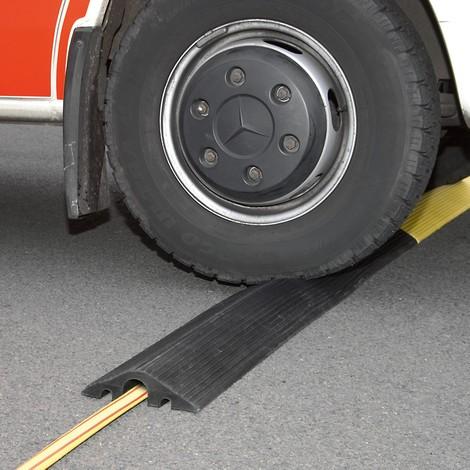 Liten kabelbrygga, för kablar och slangar upp till ø 45 mm