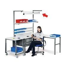 Lâmpada de local de trabalho para sistemas de local de trabalho