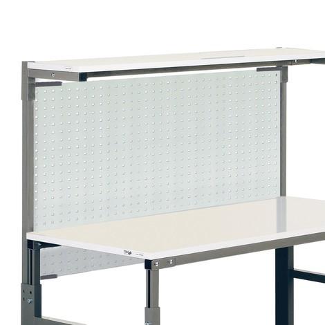 Lochplatte für ergonomische Arbeitsplatzsysteme