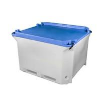 Lock för isolerad container tillverkad av HDPE