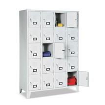 Locker, 1800x1200x500, poten, breedte 300 mm