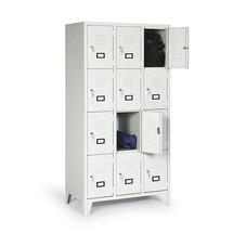 Locker, 1800x1200x500, poten, breedte 400 mm