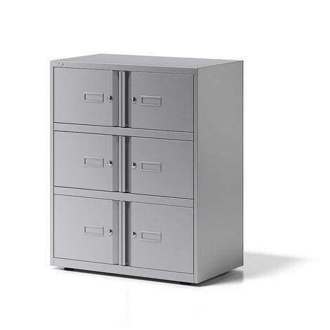 Locker BISLEY Essentials, 6 deuren