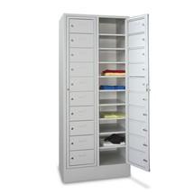 Lockers PAVOY met 1 compartiment + 20 vakken + poten