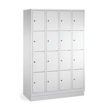 Lockers PAVOY ® met 4 x 5 vakken, breedte 1630 mm