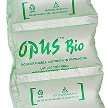 Luftpolsterfolie Opus Bio, 5 Maße zur Auswahl