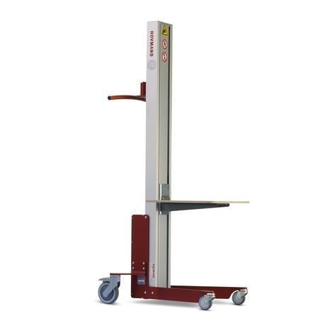 Lyftanordning HOVMAND med plast-plattform, lastkapacitet 70 kg