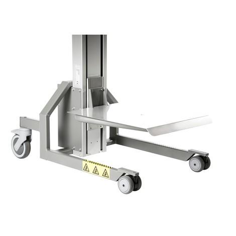 Lyftanordning HOVMAND med plattform i rostfritt stål