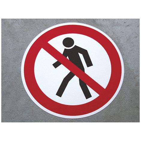 m2-Antirutsch-Bodenmarkierer, Durchgang verboten