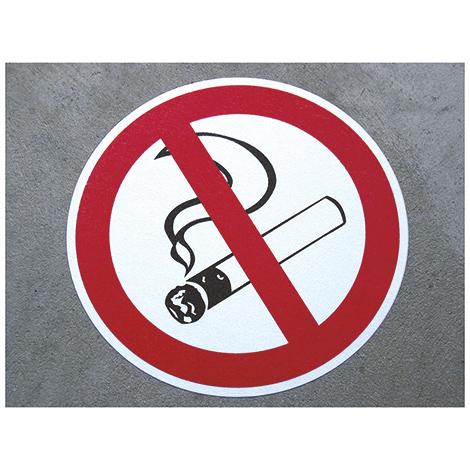 m2-Antirutsch-Bodenmarkierer, Rauchen verboten