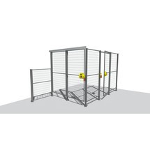 Machinebeschermrooster TROAX® Profi