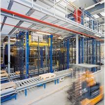Machinebeschermrooster, wandelementen PROFI, HxB 1200x200 - 1500 mm