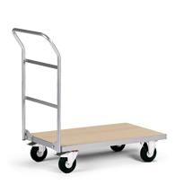Magazinwagen mit Holzplattform. Tragkraft 200 kg