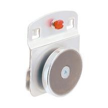 Magneethouder voor geperforeerde platen