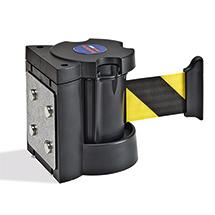Magnetischer Wandclip für Gurt-Absperr- und Leitsysteme