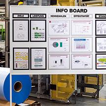 Magnetrahmen DIN A4. 5 Rahmenfarben zur Auswahl