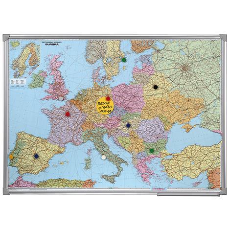Magnettafel EUROPA + WELT